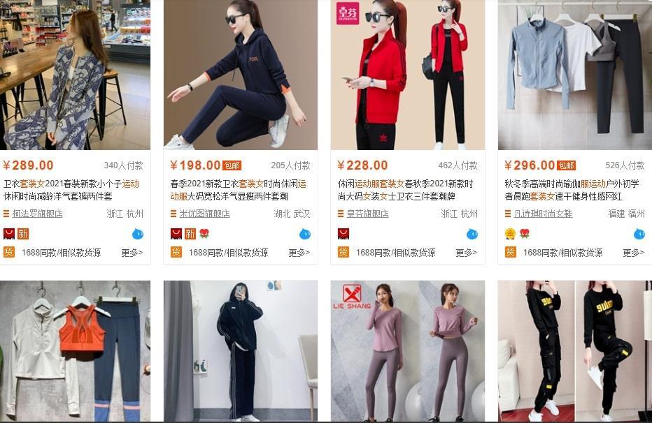 Shop bộ đồ Quảng Châu dành cho Nữ